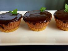 Muffins with Chocolate Mousse
