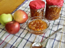 Apple Jam with Vanilla