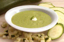 Cream of Zucchini and Leek Soup