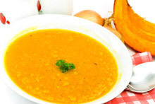 Soup with Pumpkin and Cinnamon