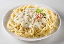 Spaghetti with Cream Sauce