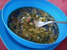 Spinach and Rice Stew