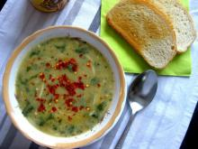 Spinach Soup with Vermicelli
