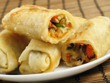 Vegetable Roll with Puff Pastry