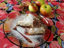 Apple Strudle with Cinnamon
