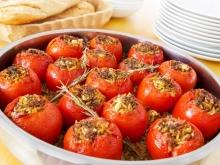 Stuffed Tomatoes with Mince