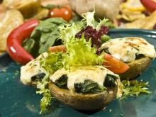 Dietetic Oven Grilled Stuffed Potatoes