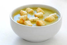 Cream Soup with Peas and Cream
