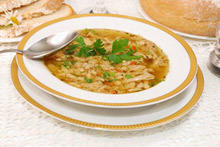 Village-Style Chicken Soup with Onions