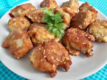 Sesame Seed Chicken Nuggets