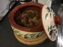 Pork Shoulder in a Clay Pot