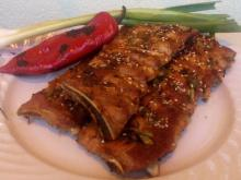 Spicy Pork Ribs in the Oven