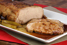 Pork Loins with Honey Sauce