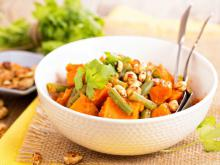 African Salad with Sweet Potatoes