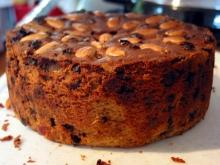 Christmas Cake with Honey