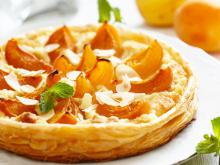 French Cake with Apricots and Almond Cream
