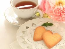 Tea Biscuits - Hearts