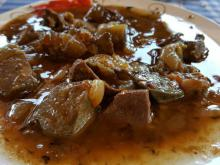 Sauteed Veal Tongue