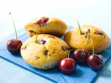 Muffins with Cherries