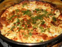 Zucchini with Bechamel Sauce