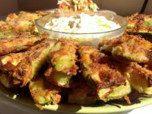Crunchy Zucchini with Cheese