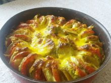 Country-Style Baked Zucchini with Vegetables
