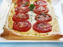 Puff Pastry Pizza with Sausages