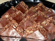 Homemade Toblerone