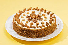 Honey Cake with Walnuts