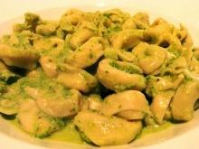 Tortellini with Zucchini and Cream