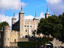 Spirit of Queen Anne in the London Tower Castle