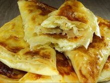 Triangular Phyllo Pastries with Ready-Made Sheets