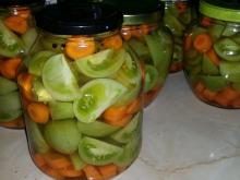 Spicy Green Tomato Pickle