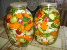 Tasty Pickle in Two Three-Liter Jars