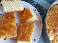 Feta Cheese Cake (Tutmanik) with Yoghurt