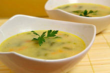Green Bean Soup with Chervil