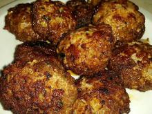 Tasty Fried Meatballs