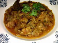 Stew with Pork and Onions