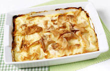 Baked Noodles with Cream