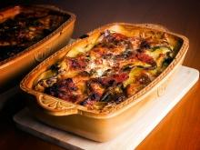 Moussaka with Zucchini and Carrots
