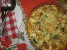 Casserole with Chicken and Mixed Vegetables