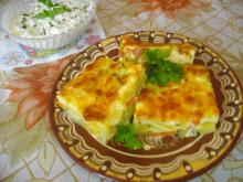 Tasty Casserole with Zucchini and Potatoes