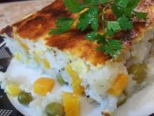 Moussaka with Rice and Vegetables