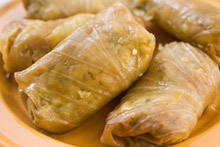Dolmades with Minced Meat