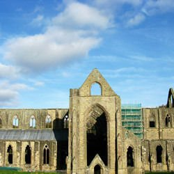 Most beautiful monasteries  -  Tintern Abbey