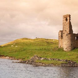 Inchnadamph -  Ardvreck Castle