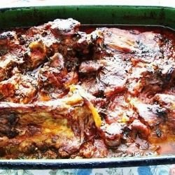 Lamb in the Oven
