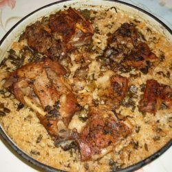 Lamb Meat with Rice