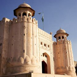 Schonburg Castle Germany - Alamgiri gate in Lahore