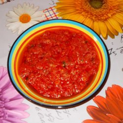Appetizing Chutney with Tomatoes